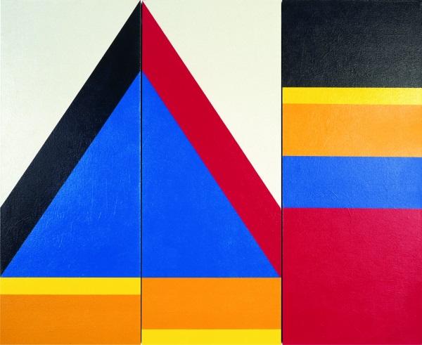 010-Ägypt. Triptychon Nr