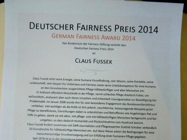 047 Fairness-Preis