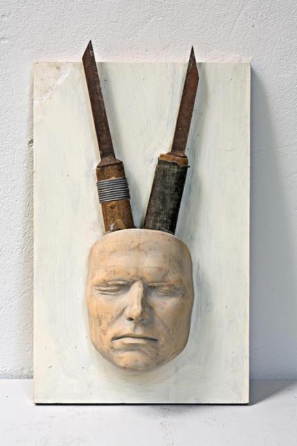 3-B Greiner-Selbstportrait Maske