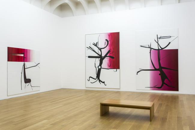 Albert Oehlen_Ausstellungsansicht im Museum Wiesbaden_2014-650