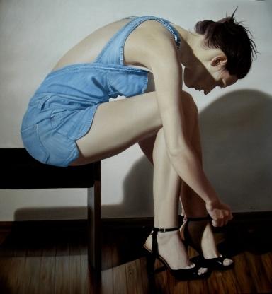 Assia 2009, oil on canvas, 130 x 120 cm_web