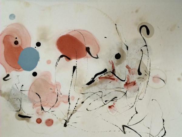 spuren und linien kunst