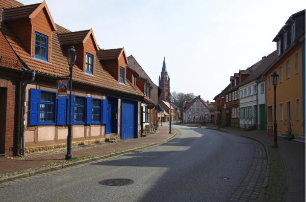 Bild 13 Röbel an der Müritz - Im Ort