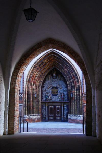 Bild 18 Stralsund - An der Nikolaikirche
