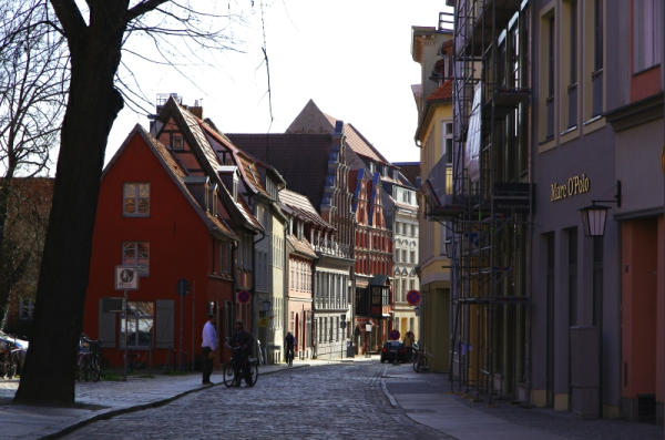 Bild 19 Gasse in Stralsund