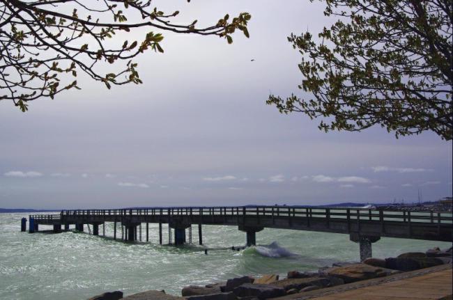 Bild 27 Sassnitz - Die Seebrücke