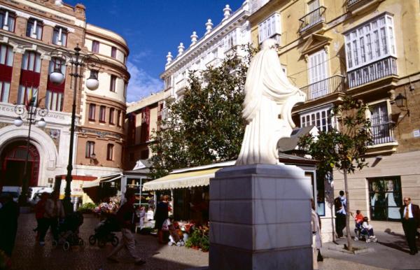 Cadiz Jugendstil Blumenmarkt-600