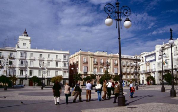 Cadiz Plaza de Candelaria-600