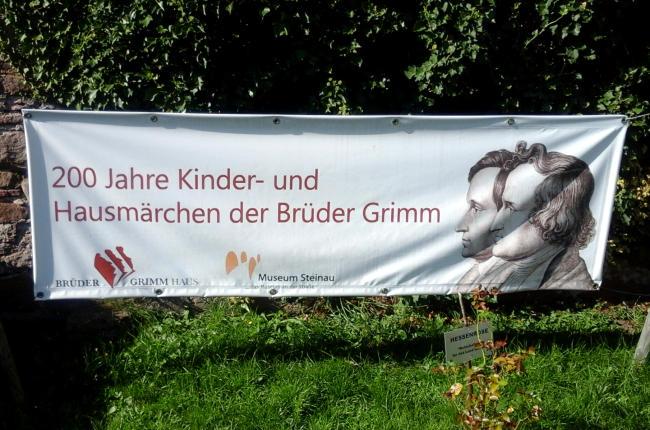 Eingang zum Brüder Grimm-Haus in Steinau an der Strasse. Foto Winfred Kaminski