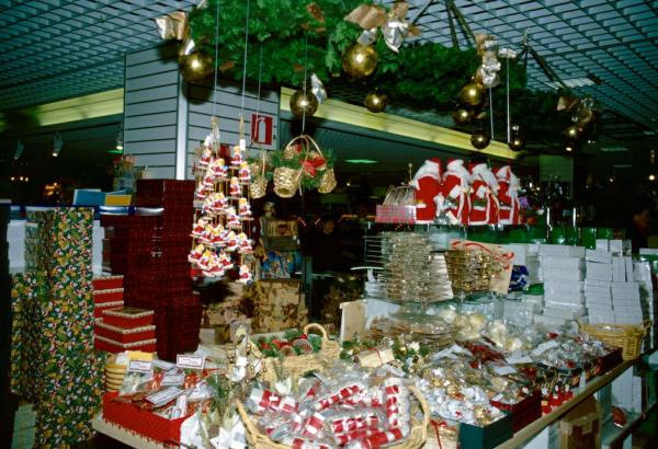 Finnland Turku Weihnachtsauslage-600