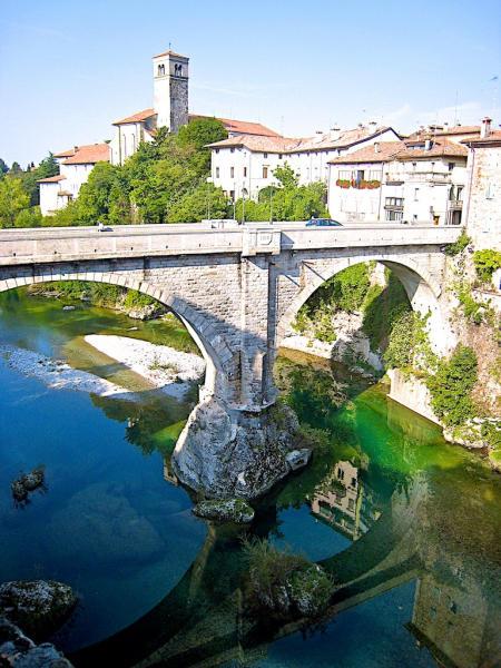 Friaul Cividale del Friuli Teufelsbruecke