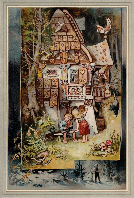 Hänsel und Gretel Ill. von Hermann Vogel-Plauen