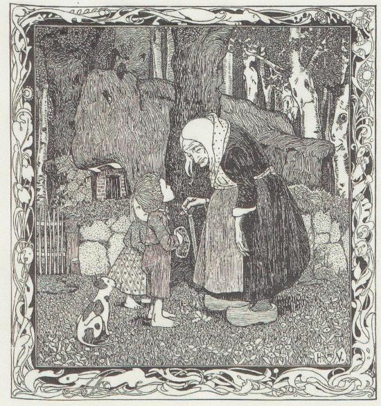 Hänsel und Gretel Ill. von Walter Vogeler