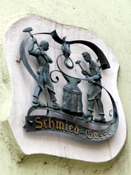 Hall in Tirol Schmiedearbeit Schmiedgasse-430