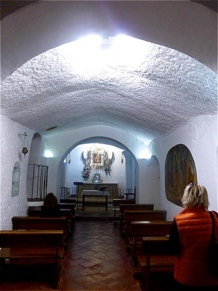Hoehlenkirche Cueva Santa de la Virgen de Gracia Guadix 2015-11-06 Foto Elke Backert-450