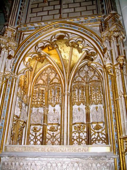 Kathedralen-Nische Toledo-430