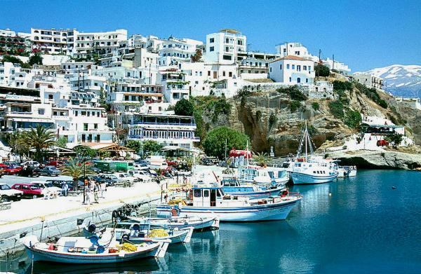 Kreta Agia Galini Hafen-B-600