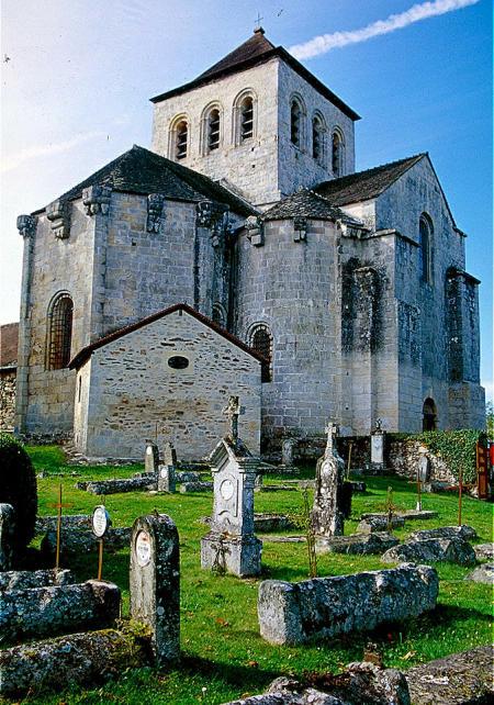 Limousin Le Chalard Wehrkirche