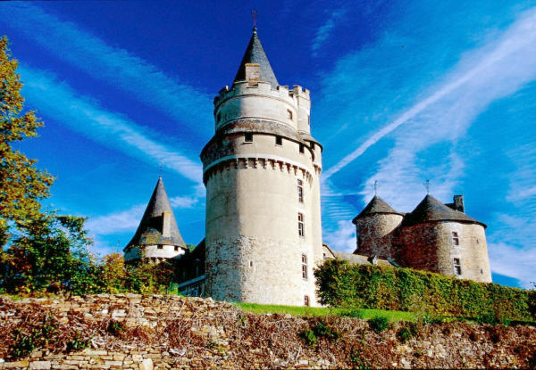 Limousin Schloss Coussac Bonneval (1)
