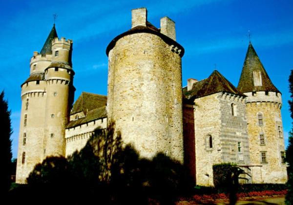 Limousin Schloss Coussac Bonneval