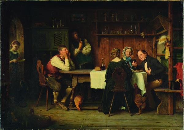 Ludwig Knaus_die Brautschau-600