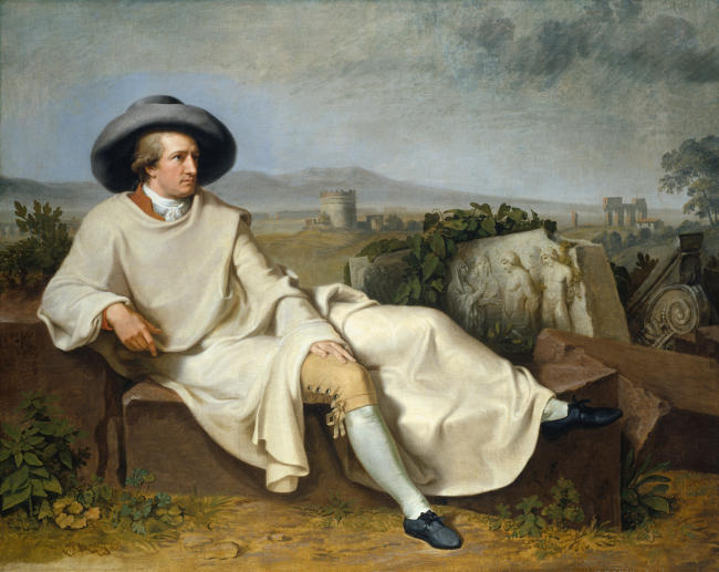 Goethe in der römischen Campagna. 1787