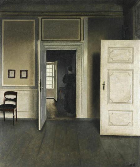 Interieur. Strandgade 30. 1901