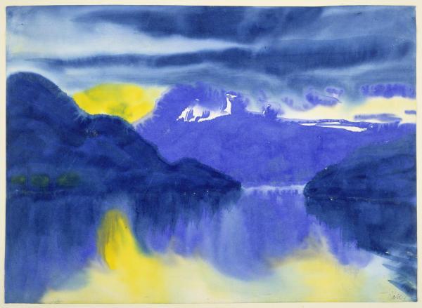 Vierwaldstätter See. Um 1930