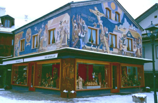 Oberammergau Holzschnitzwerk