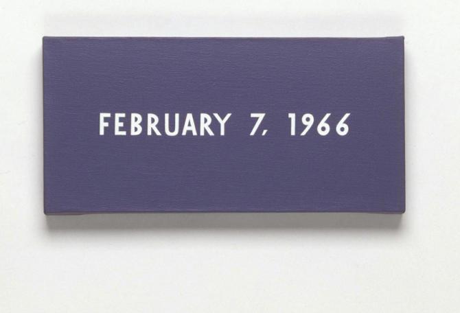 On_Kawara_February_7_1966