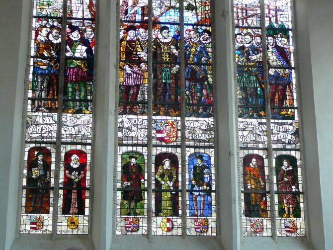 Oude Kerk Fenster