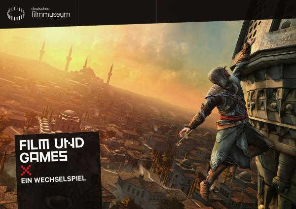 Plakat Film und Games