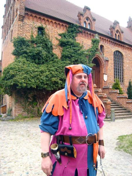 Plattenburg Burgkapelle Narr