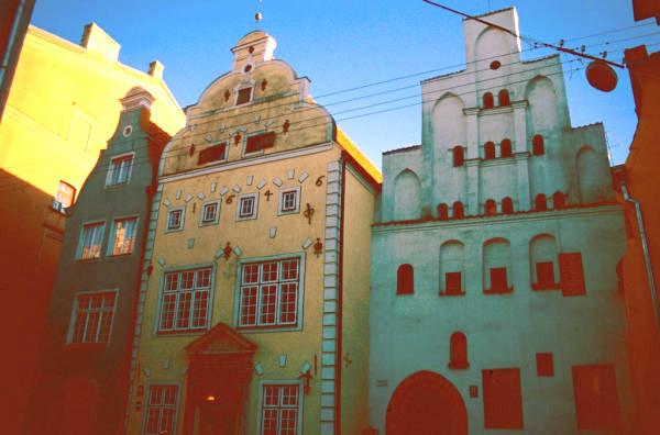 Riga Die drei Brueder-600