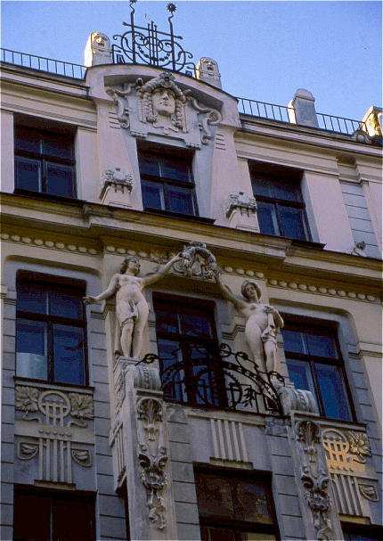 Riga, Jugendstil