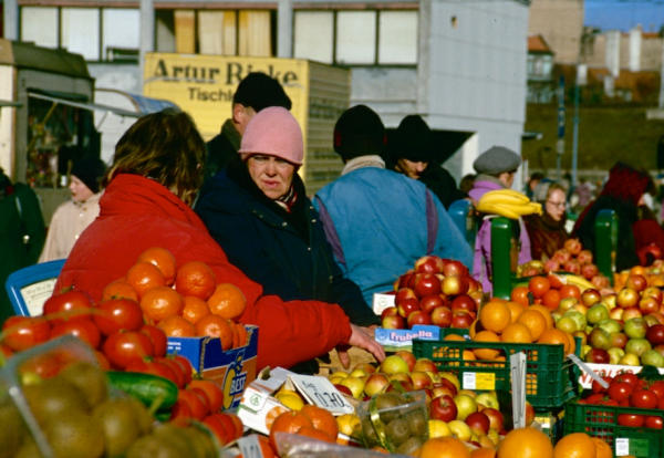 Riga Marktstand