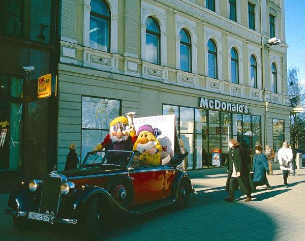 Riga McDonalds Oldtimer