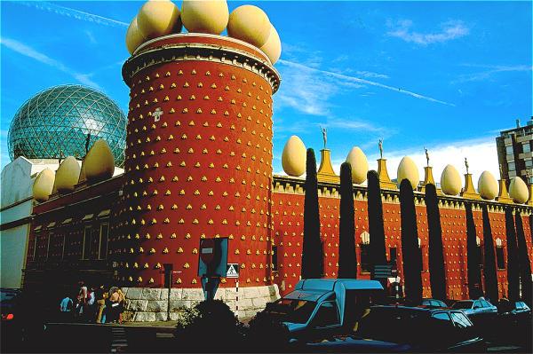 Spanien Costa Brava Figueres Dali-Museum-600