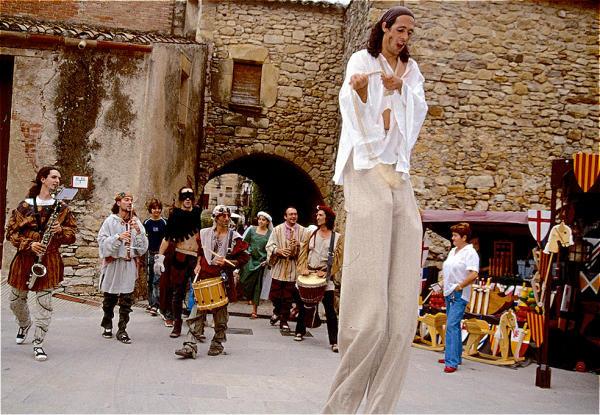 Spanien Costa Brava Peratalliada Mittelalterfest-600