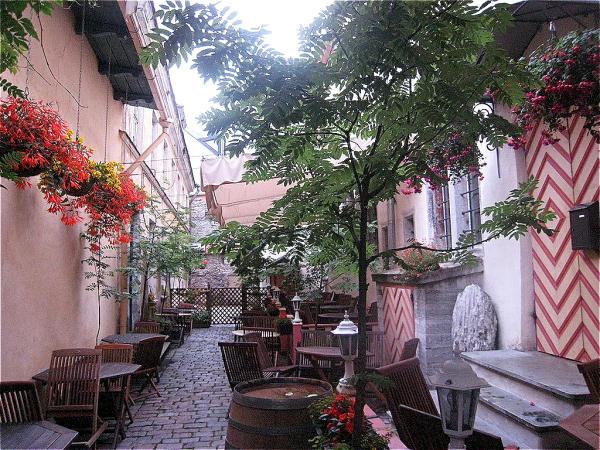 Tallinn Innenhof