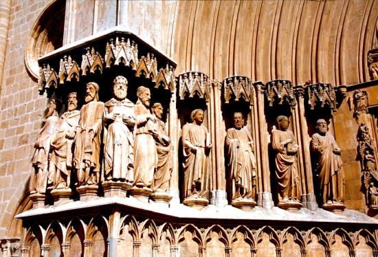 Tarragona Kathedrale Portal-550