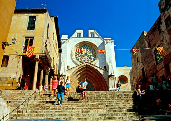 Tarragona Kathedrale Treppe-550