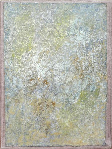 Öl auf Papier, auf Leinwand kaschiert 2014