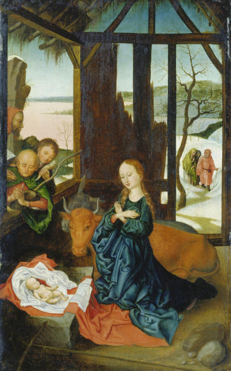 Die Geburt Christi.
