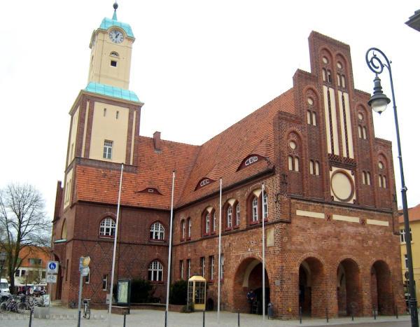 Wittstock an der Dosse Rathaus-600