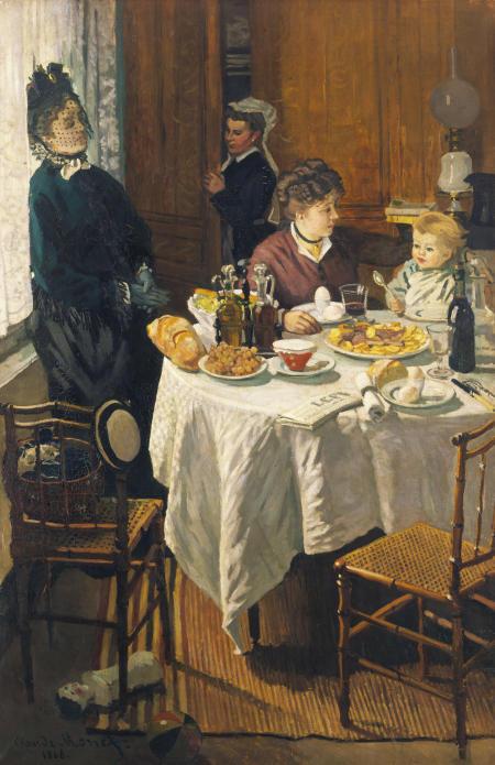 Das Frühstück (Le Déjeuner). 1868