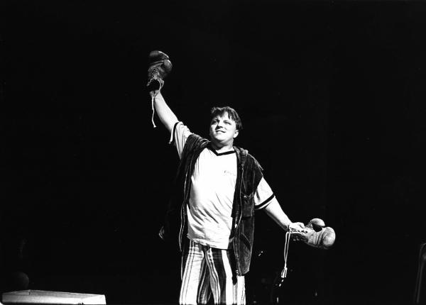 Das Herz eines Boxers von Lutz HŸbner UA am 19.10.1996 im Bild: Prahl