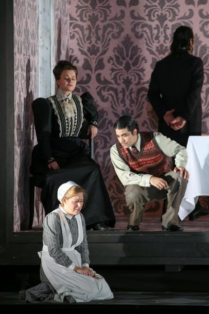 Die diebische Elster / La gazza ladra (Oper Frankfurt, 2014)