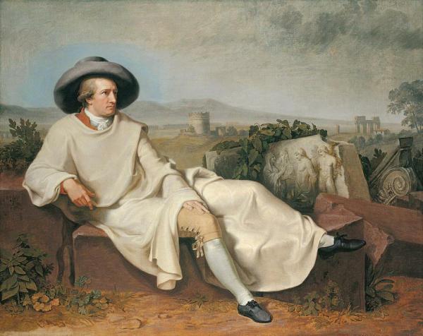 staedel_kunstdermoderne_tischbein_johannheinrichwilhelm_goetheinderroemischencampagna_1787